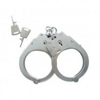 Металлические наручники БР  -1КФ оперативные без фиксатора